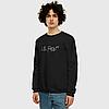 Толстовка Lil Peep Logo світшоти Реглан чорний Ліл Піп оверсайз У стилі Lil Peep Angry Girl хіп-хоп одяг, емо, фото 2