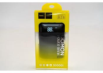 Зовнішній акумулятор HOCO B29 Domon (10000mAh) Black