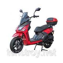 Скутер SP150S-19BN (черный, синий, красный, белый) + Доставка бесплатно