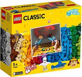 Lego Classic Кубики и свет 11009