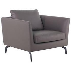 Кресло офисное Fernand Комбинированная Кожа Beige (AMF-ТМ) Серый
