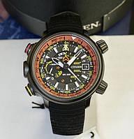 Мужские часы Citizen BN5035-02F Altichron Altimeter Eco-Drive Promaster Divers Titanium