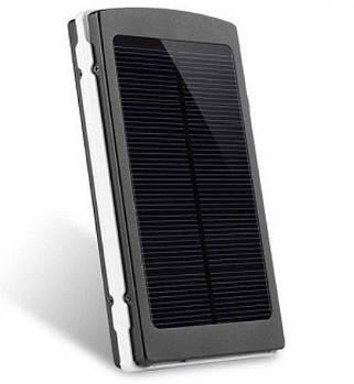 Power Bank 16000 mAh на сонячних батареях + Solar + Led панелі