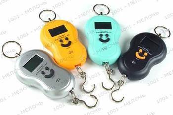 Ваги кантер електронний до 40кг з термометром