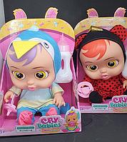Плачущий пупс младенец пупс Cry Babies Интерактивная кукла Плакса Край бебис 8368