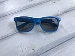 Сонцезахисні окуляри жіночі сині 1175-4, фото 2