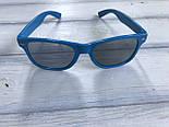 Сонцезахисні окуляри жіночі сині 1175-4, фото 3