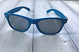 Сонцезахисні окуляри жіночі сині 1175-4, фото 5