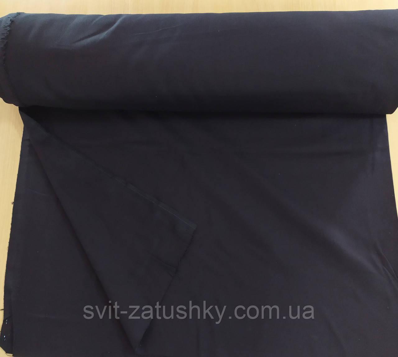 Домоткане полотно для вишивки гребінне чорне