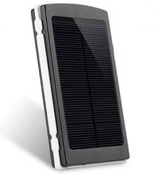 Power Bank 20000 mAh на сонячних батареях + Solar + Led панелі