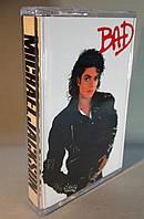 Аудіокасета Michael Jackson — Bad