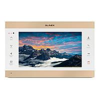 IP-видеодомофон Slinex SL-10IPT FHD (white+gold)