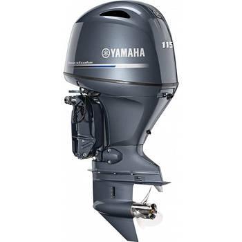Лодочный мотор Yamaha F115BETL(LA) -  подвесной мотор для яхт и рыбацких лодок