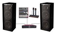 Аренда комплекта звука DJ 215KAR2 Sound Division  ( 2 000 Вт)