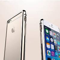 Бампер металлический Silver Chrome для iPhone 5/5s, фото 1