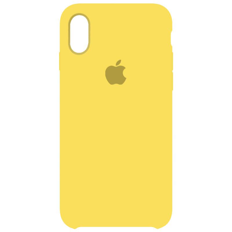 Чехол Silicone Case для Apple iPhone X, Xs 34