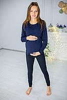 630102 Лосини вагітним Сині, фото 1