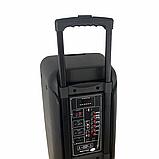 Портативная колонка Bluetooth на аккумуляторе Party box 2 микрофона 1000W широкого спектра использования 1010, фото 6