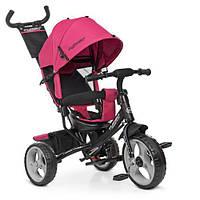 Велосипед триколісний Bambi M 3113-6 Рожевий
