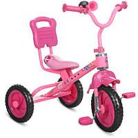 Триколісний велосипед Bambi M 1190 Рожевий