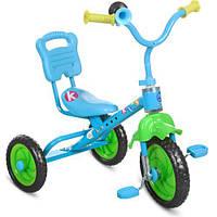 Триколісний велосипед Bambi M 1190 Блакитний