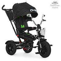 Велосипед трехколесный TURBOTRIKE M 4056-20 Чёрный