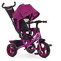 Велосипед трехколесный TURBOTRIKE M 3113-18L Фиолетовый