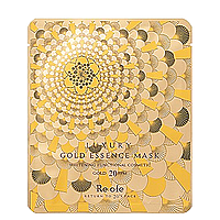 Золота тканинна маска для обличчя Esfolio Re:ofe Luxury Gold Essence Mask