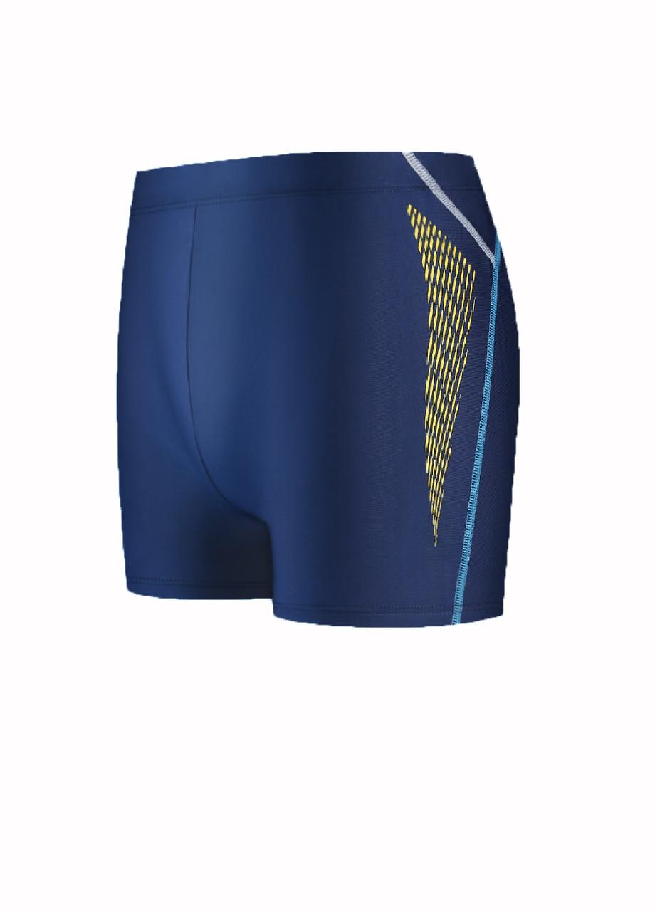 Плавки для плавальні чоловікам стильні сині