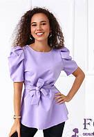 Жіноча блуза з поясом 029 В/03, фото 1