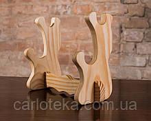 Подставка деревянная для катаны на 2 шт