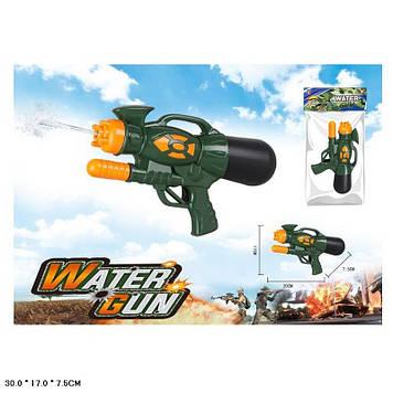 Пістолет водян.з насосом,30х17х7,5 см,в кульку №LD-116E(48)(96) КІ