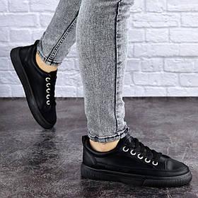 Женские кеды Fashion Kicks 1882 38 размер 23 см Черный