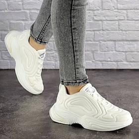 Женские кроссовки Fashion Alien 1699 36 размер 22,5 см Белый