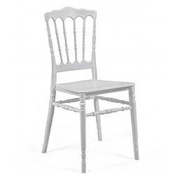 Штабелируемый стул Наполеон SDM пластиковый Белый, КОД: 1926921