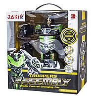 Робот-трансформер на радиоуправлении Jaki Assembly TT656, КОД: 2412172