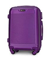 Чемодан Fly 1093 малый 55х40х24 см Ручная кладь на 4 колесах Фиолетовый