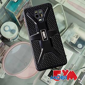 Чехол TPU+PC UAG Xiaomi Redmi Note 9s/Note 9 Pro/Note 9 Pro Max черный