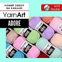 Обзор пряжи YARNART ADORE 🔥 Качественный анти-пиллинг акрил