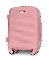 Чемодан Fly 1093 мини 52х37х20 см Ручная кладь на 4 колесах Розовый
