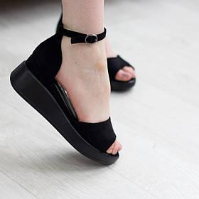 Жіночі босоніжки Fashion Abdul 2727 36 розмір, 23,5 см Чорний