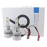 Світлодіодні лампи, комплект. LED H7, 8000LM. 9-32V/ Гарнатия, фото 7