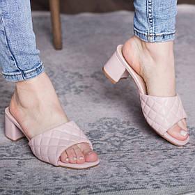 Мюли женские Fashion Kaaisa 2831 36 размер 23,5 см Розовый