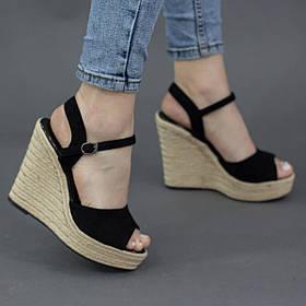 Жіночі босоніжки Fashion Abendigo 2732 36 розмір, 23,5 см Чорний