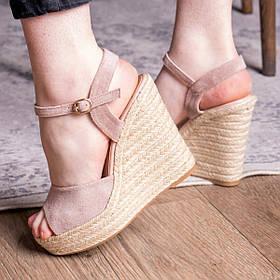 Жіночі босоніжки Fashion Abendigo 2829 36 розмір, 23,5 см Бежевий 37