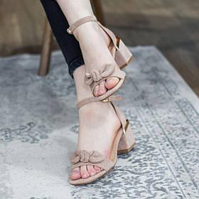 Жіночі босоніжки Fashion Abner 2751 36 розмір, 23,5 см Бежевий