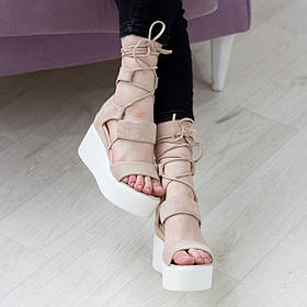 Жіночі босоніжки Fashion Abrico 2739 36 розмір, 23,5 см Бежевий 37