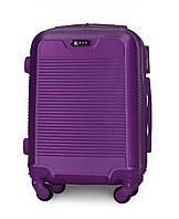 Чемодан Fly 1093 мини 52х37х20 см Ручная кладь на 4 колесах Фиолетовый