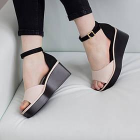 Женские босоножки Fashion Abrico 2746 37 размер 24 см Розовый