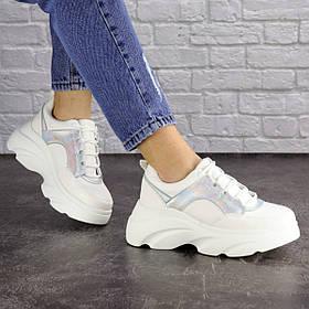 Женские кроссовки Fashion Cyber 1662 36 размер 23 см Белый